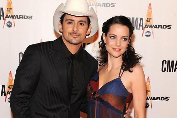 Brad Paisley and Kimberly at CMA awards