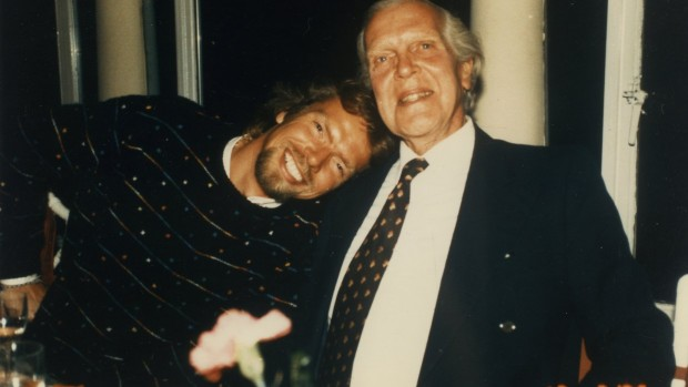 Richard Branson with his father Edward James Branson