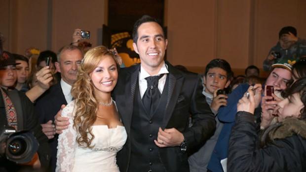 Claudio Bravo on his Wedding Day