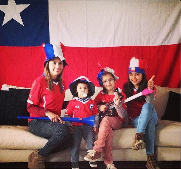 Claudio Bravo's kids and wife