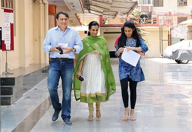 Chanda Kochhar Family