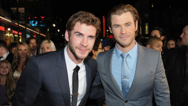 Chris Hemsworth and his brother Liam Hemsworth