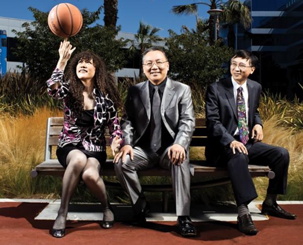 Weili Dai Family