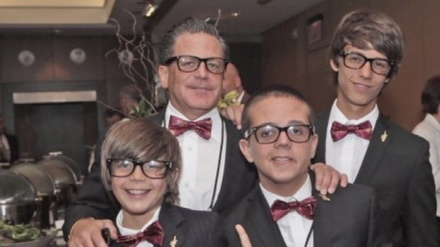Daniel Gilbert and his sons