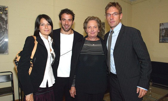 Del Piero and his brother