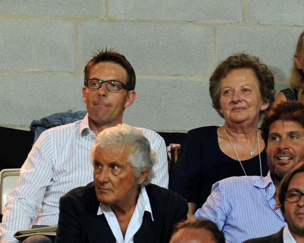 Del Piero's brother Stefano and mother Bruna