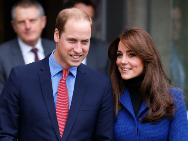 Prince William with his wife Princess Kate Middleton