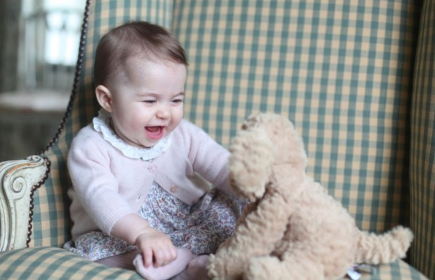 Princess Diana's grand daughter Princess Charlotte