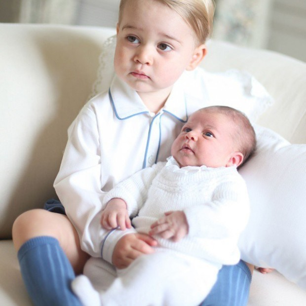 Princess Diana's grand children