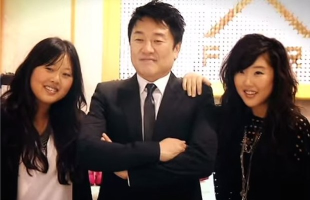Don Chang and His Daughters