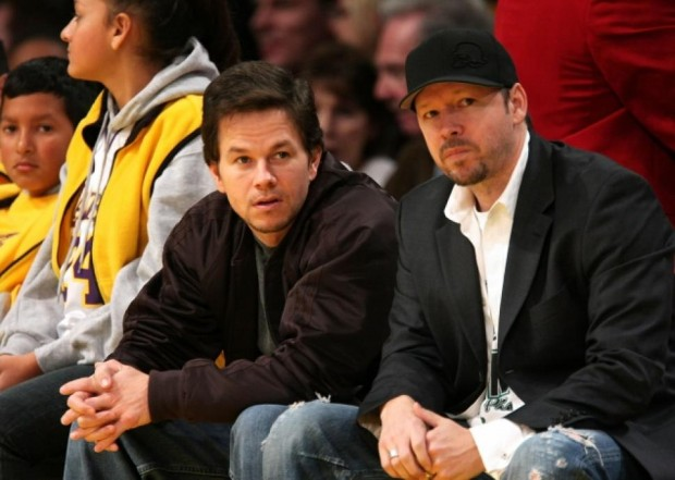 Donnie Wahlberg and Mark Wahlberg
