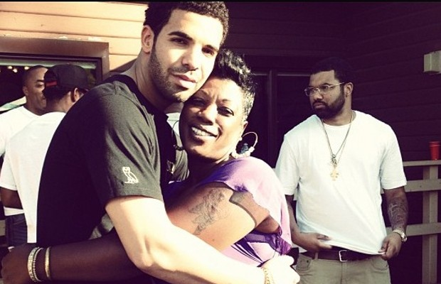 Drake with His Aunt