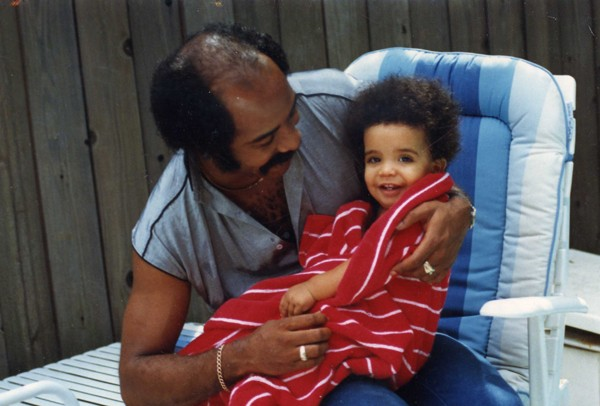 Baby Drake with His Dad Dennis