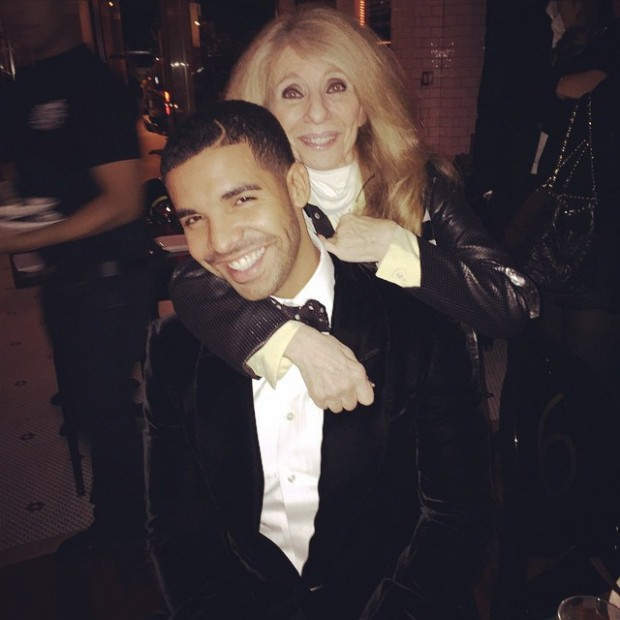 Drake and His Mom