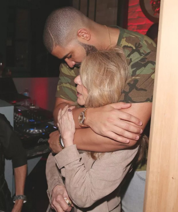 Drake and His Mother Sandi Graham