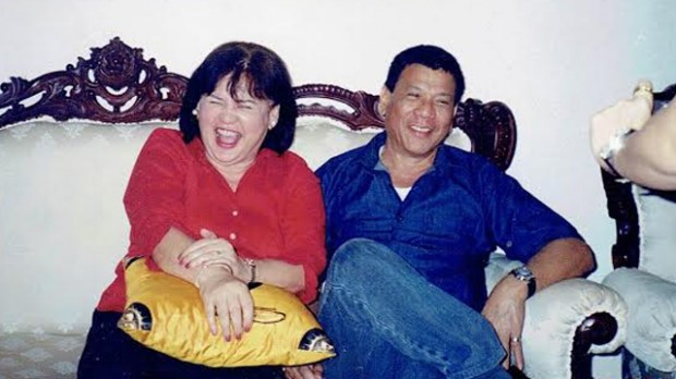 Rodrigo Duterte and His Ex Wife Elizabeth