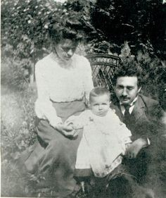 Einstein with his son Hans Albert Einstein