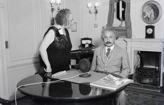 Elsa and Einstein