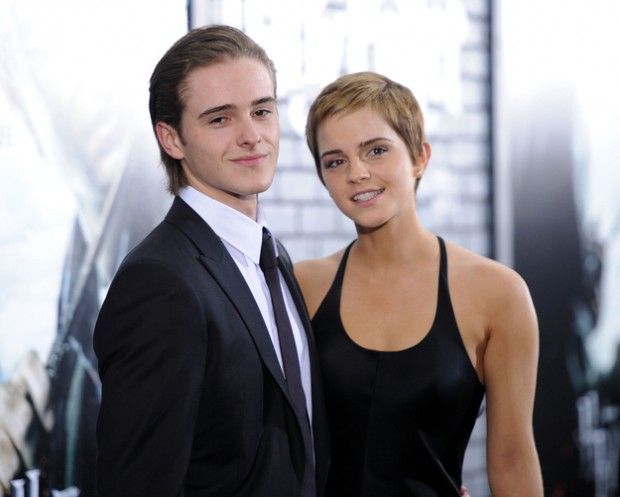 Emma Watson and his brother Alex Watson