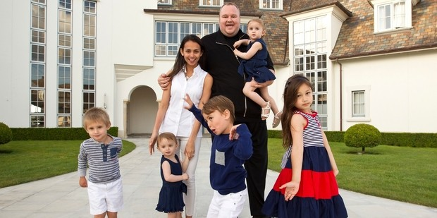 Kim Dotcom Family