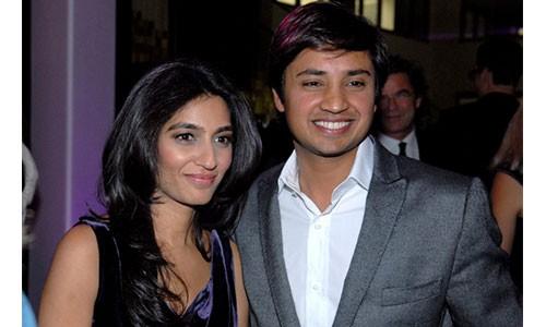 Lakshmi Mittal's Son Aditya with His Wife Megha Mittal