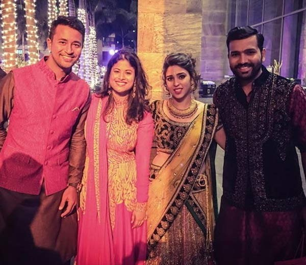 Rohit Sharma Sangeet Ceremony