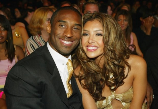 Kobe with His Wife Vanessa at Las Vegas in 2004