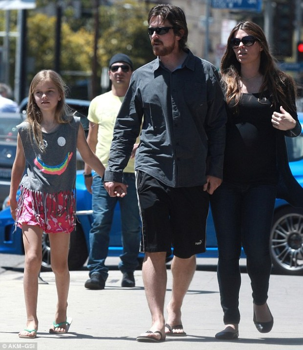 Bale walking With Daughter Emmeline and Wife Sibi