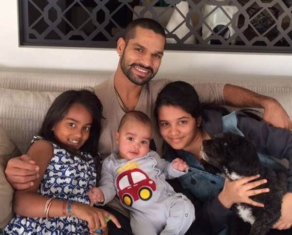 Shikhar Dhawan Enjoying with His Family In Melbourne