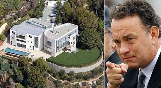 Tom Hanks Pacific Palisades Mansion