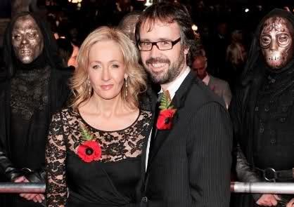 J K Rowling spouse