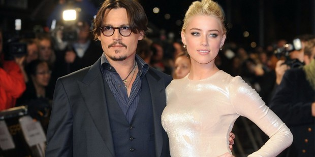 John Christopher Depp II Girl Friend Amber Heard