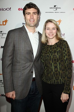 Marissa Mayer Husband Zachery Bogue