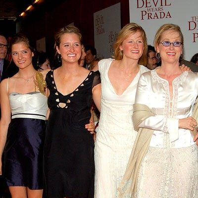 Meryl Streep Daughters Grace, Louisa and Mamie