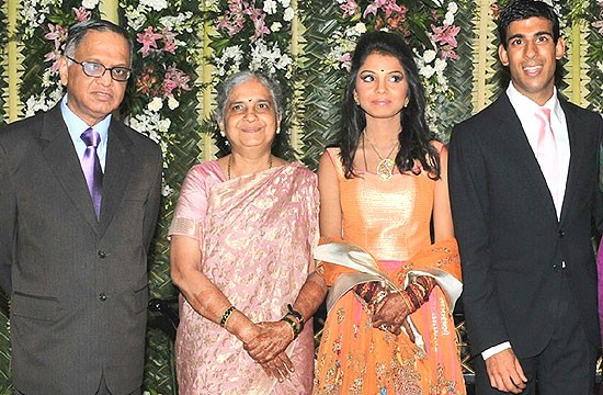 N. R. Narayana Murthy Family