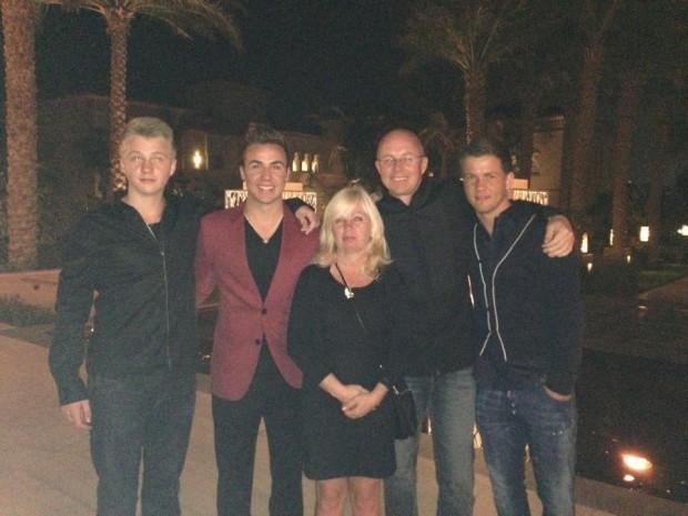 Mario Götze Family