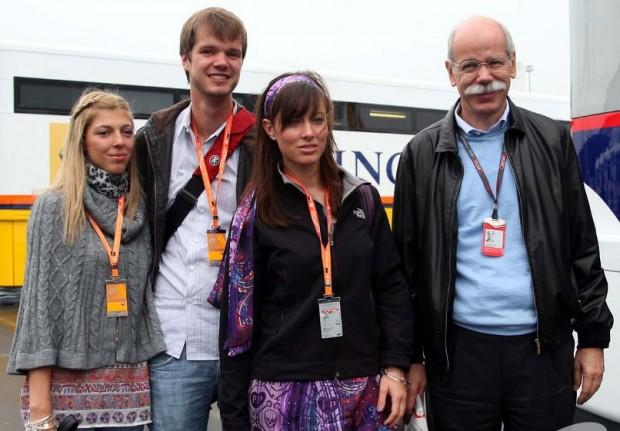 Dieter Zetsche family