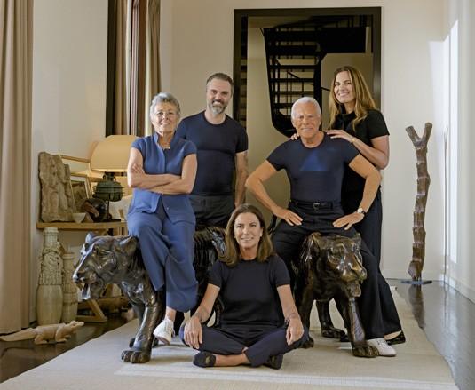 Giorgio Armani Family
