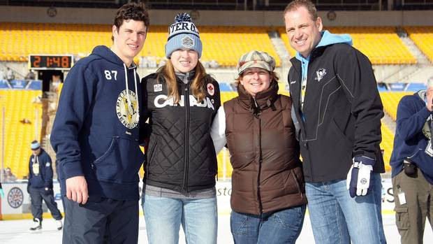 Sidney Crosby Family
