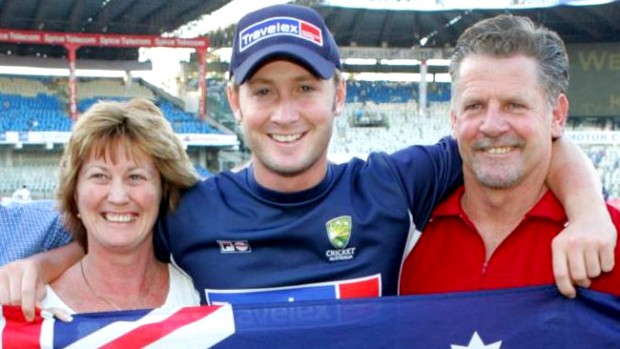 Michael Clarke Parents