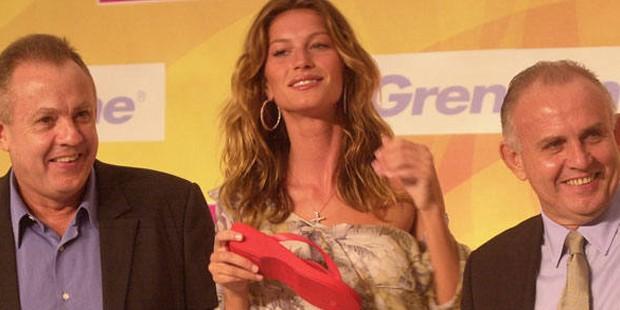 Alexandre Grendene Bartelle  with his brother Gisele Bundchen