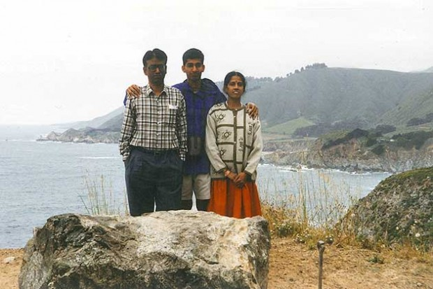 Sundar Pichai With Family