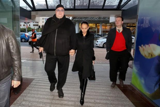 Kim Dotcom with Wife Mona Dotcom