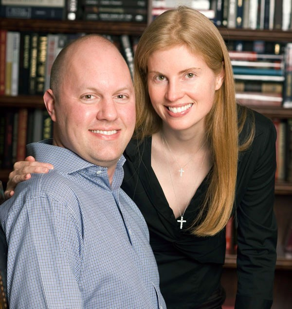 Marc Andreessen with  Wife Laura Arrillaga Andreessen