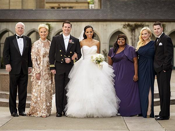 John McCain Family Group Photo