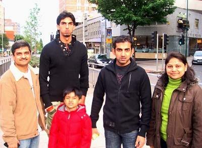 Ishant Sharma Family