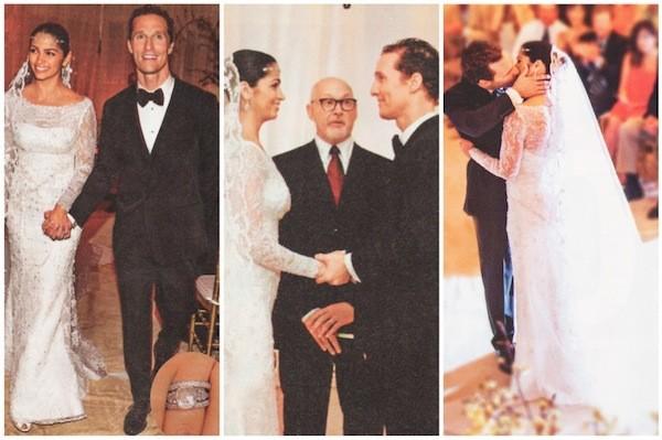 Matthew McConaughey Wedding Moments