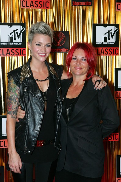 Ruby Rose With Mother Katia Langenheim