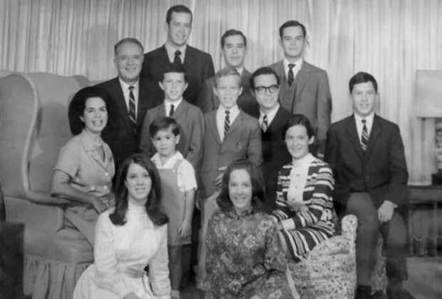 Stephen Colbert Childhood Photo with his Family