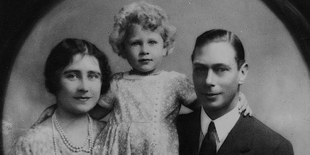 Queen Elizabeth with Her Parents